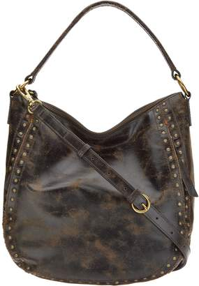Leather Stud Hobo Bag - Victoria 16339e8d67