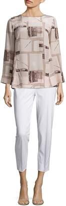 Piazza Sempione Women's Silk Printed Tunic