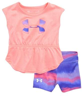 Under Armour Horizon Logo HeatGear(R) Tank & Mesh Shorts Set