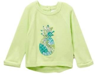 Rosie Pope Pineapple Sweater (Baby Girls)