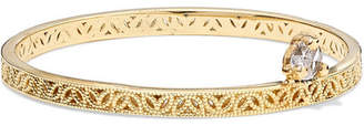 Lee Grace Straight Lace Gold Diamond Ring