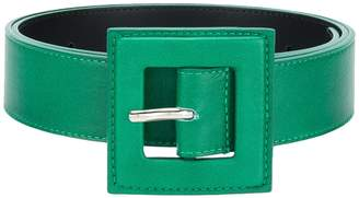 B-Low the Belt square buckle belt