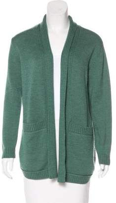 Tory Burch Wool Open-Front Cardigan