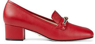 Gucci Women's Leather Pumps - Red