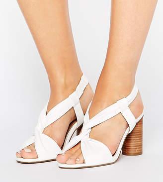 Asos Tallulah Wide Fit Heeled Sandals