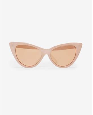 Express pink cat eye sunglasses