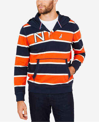 Nautica Men Striped Hoodie