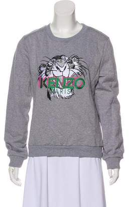 Kenzo Embroidered Lightweight Sweater