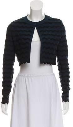 Alaia Open Front Cropped Jacket
