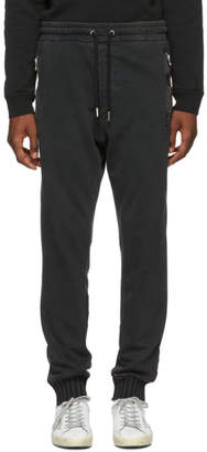 Diesel Black P-Doc Lounge Pants