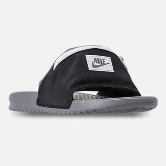 Nike Men's Benassi JDI Fanny Pack Slide Sandals
