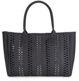 Textured Tote Bag $98 thestylecure.com