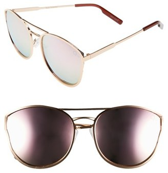 Women's Quay Australia Cherry Bomb 60Mm Sunglasses - Rose Gold/ Pink $55 thestylecure.com