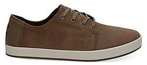 Toms Men's Payton Bark Suede Low-Top Sneakers