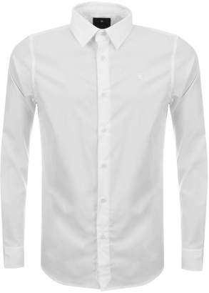 G Star Raw Slim Core Shirt White