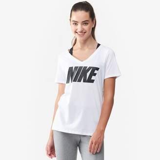 Nike NSW Metallic Block T-Shirt - Women's