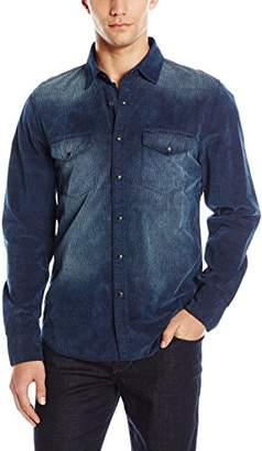 Joe's Jeans Men's Ralston Corduroy Button Down Shirt