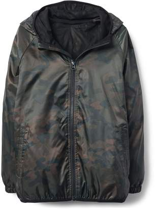 Crazy 8 Crazy8 Camo Windbreaker