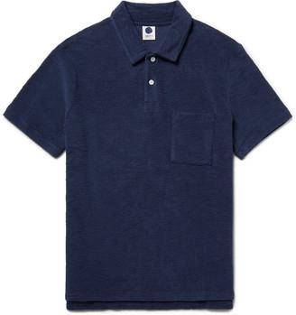 NN07 Quince Cotton-Terry Polo Shirt