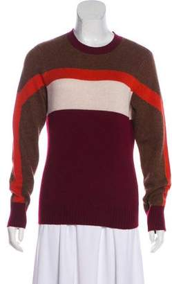 Frame Colorblock Cashmere & Wool Sweater