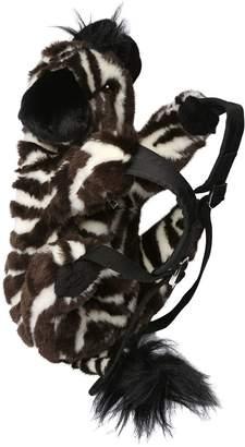Dolce & Gabbana Zebra Shaped Plush Backpack