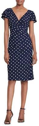 Lauren Ralph Lauren Polka-Dot Dress $109 thestylecure.com