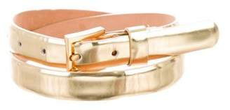 Michael Kors Metallic Buckle Belt