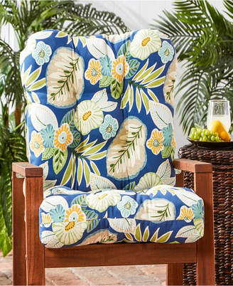 Greendale Home Fashions Outdoor Seat and Back Chair Cushion