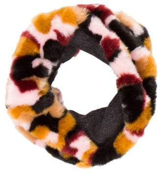 By Malene Birger Faux Fur Infinity Scarf