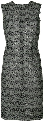 Comme des Garcons Pre-Owned sleeveless lace dress