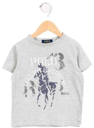Polo Ralph Lauren Boys' Printed Short Sleeve T-Shirt