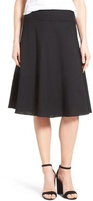 Nic+Zoe Summer Fling Linen Blend Skirt