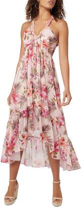 Forever New Gigi Tiered Trim Maxi Dress