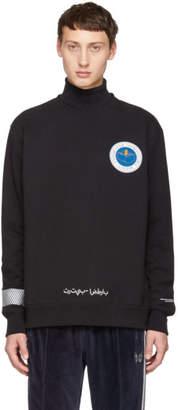 Undercover Black Astronautics Agency Sweatshirt