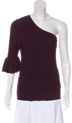 Rebecca Minkoff One-Shoulder Knit Top