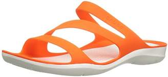 crocs Women's Swiftwater W Flat Sandal $26.47 thestylecure.com