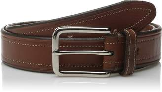 Dockers Two Toned Belt with Stitch Detail