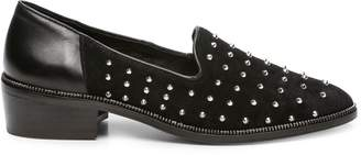 The Kooples Women's Studded Suede Leather Loafers