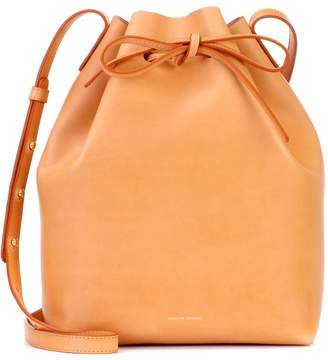 Mansur Gavriel Bucket leather crossbody bag