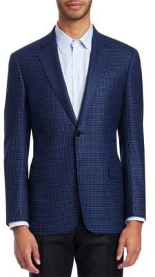 Emporio Armani G-Line Houndstooth Wool Sportcoat