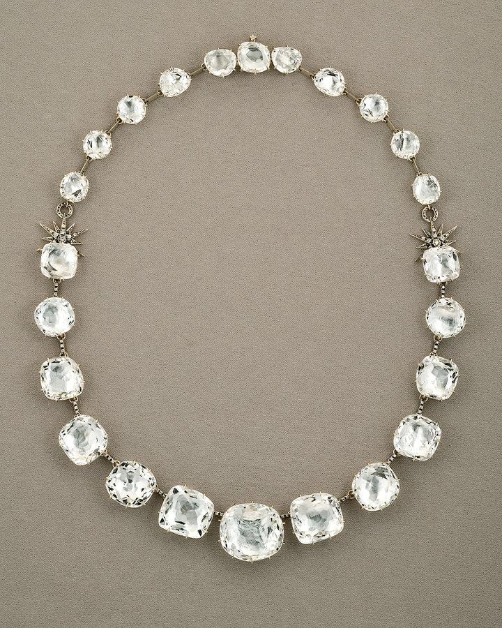 H.Stern Moonlight Crystal Quartz Necklace