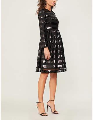 HUISHAN ZHANG Sandra sequin-embellished tulle dress