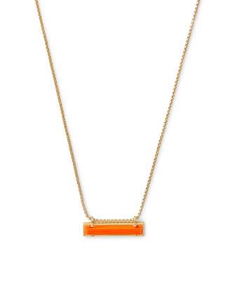 Kendra Scott Leanor Bar Pendant Necklace in Gold