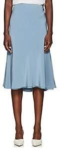 The Row Women's Medela Silk Skirt - Chambray