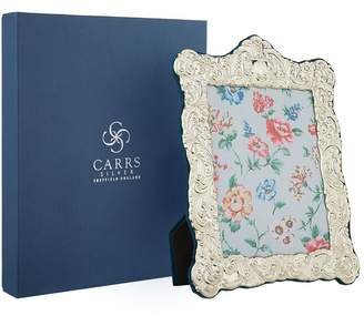 "Carrs of Sheffield Silver Velvet Trimmed Sterling Silver Picture Frame (8""x6"")"