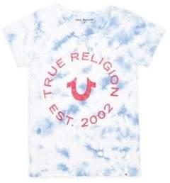 True Religion Little Girl's& Girl's Tie Dye Logo Tee