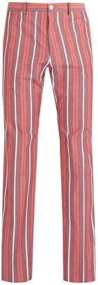 CONNOLLY High-rise cotton trousers