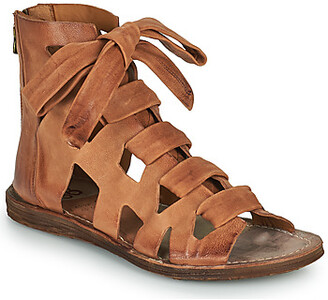 Air Step A.S.98 RAMOS LACES women's Sandals in Brown