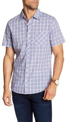 WALLIN & BROS End On End Plaid Short Sleeve Shirt