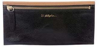 3.1 Phillip Lim Leather Zip Pouch